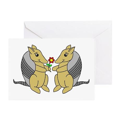 Armadillove Greeting Card
