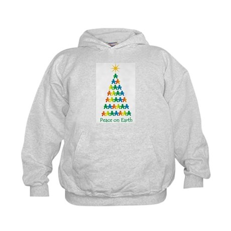 Peace on Earth Kids Hoodie