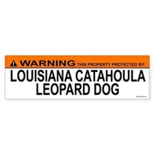 LOUISIANA CATAHOULA LEOPARD DOG Bumper Bumper Sticker