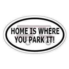 Home Oval Decal 2 Oval Decal