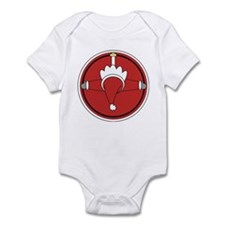 Santa Claus Top Infant Bodysuit