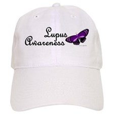 Butterfly Awareness 4 (Lupus) Baseball Cap