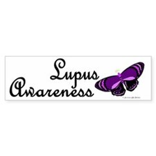 Butterfly Awareness 4 (Lupus) Bumper Bumper Sticker