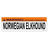 NORWEGIAN ELKHOUND Bumper Bumper Stickers