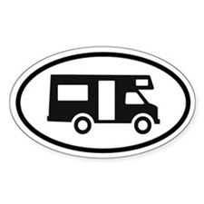 RV Oval Decal Oval Decal