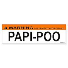 PAPI-POO Bumper Bumper Sticker