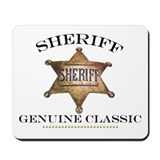 Classic Sheriff Mousepad