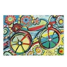 Unique Bicycle Postcards (Package of 8)