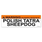 POLISH TATRA SHEEPDOG Bumper Bumper Sticker