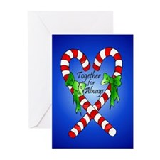 Together for Always Christmas Greeting Cards (Pk o