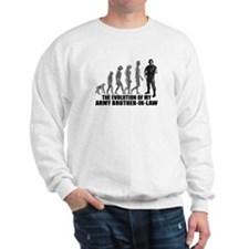 Evolution - My Army Bro-n-Law Sweatshirt