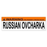 RUSSIAN OVCHARKA Bumper Bumper Sticker