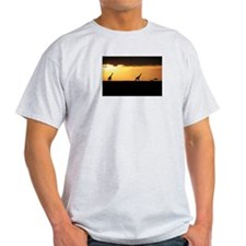 GIRAFFES AT SUNSET T-Shirt