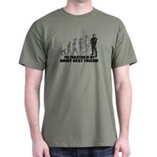 Evolution - My Army Best Friend T-Shirt