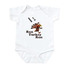 Run Turkey Run Thanksgiving Infant Bodysuit