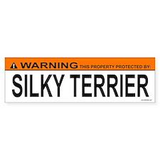 SILKY TERRIER Bumper Bumper Sticker
