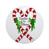 Together for Always Christmas Ornament (Round)