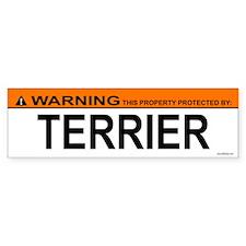 TERRIER Bumper Bumper Sticker