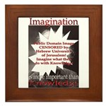 Imagination Framed Tile