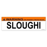 SLOUGHI Bumper Car Sticker
