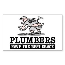 PLUMBERS CRACK Rectangle Decal