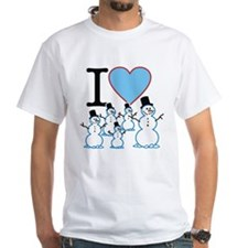 I Love Snowmen Shirt