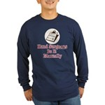Funny Doctor Hand Surgeon Long Sleeve Dark T-Shirt