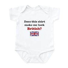 Make Me Look British Infant Bodysuit