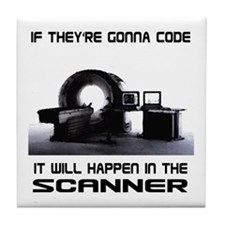 Scanner Tile Coaster
