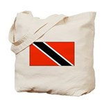 Trinidad Tobago Blank Flag Tote Bag