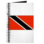 Trinidad Tobago Blank Flag Journal