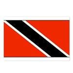 Trinidad Tobago Blank Flag Postcards (Package of 8