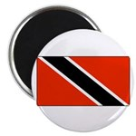 Trinidad Tobago Blank Flag Magnet