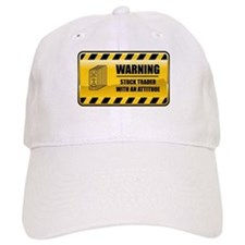 Warning Stock Trader Baseball Cap
