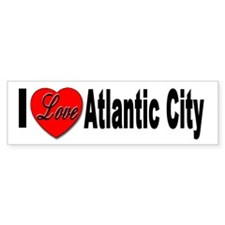 I Love Atlantic City Bumper Bumper Sticker