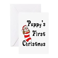 Puppy's First Christmas Greeting Cards (Pk of 10)