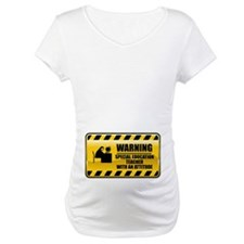 Warning Special Education Teacher Shirt