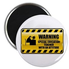 Warning Special Education Teacher Magnet
