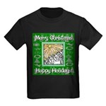 Caroling Angles Kids Dark T-Shirt