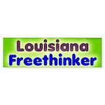 Lousiana Freethinker Bumper Sticker