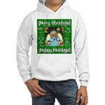 Fairy Christmas Angel Hooded Sweatshirt