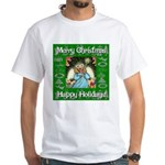 Fairy Christmas Angel White T-Shirt