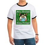 Fairy Christmas Angel Ringer T