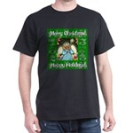 Fairy Christmas Angel Dark T-Shirt