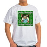 Fairy Christmas Angel Light T-Shirt