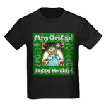 Fairy Christmas Angel Kids Dark T-Shirt