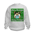 Fairy Christmas Angel Kids Sweatshirt