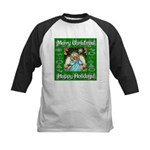 Fairy Christmas Angel Kids Baseball Jersey