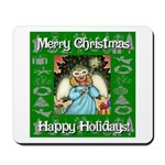 Fairy Christmas Angel Mousepad
