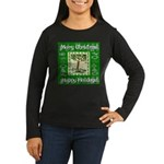 Partridge in a Pear Tree Women's Long Sleeve Dark